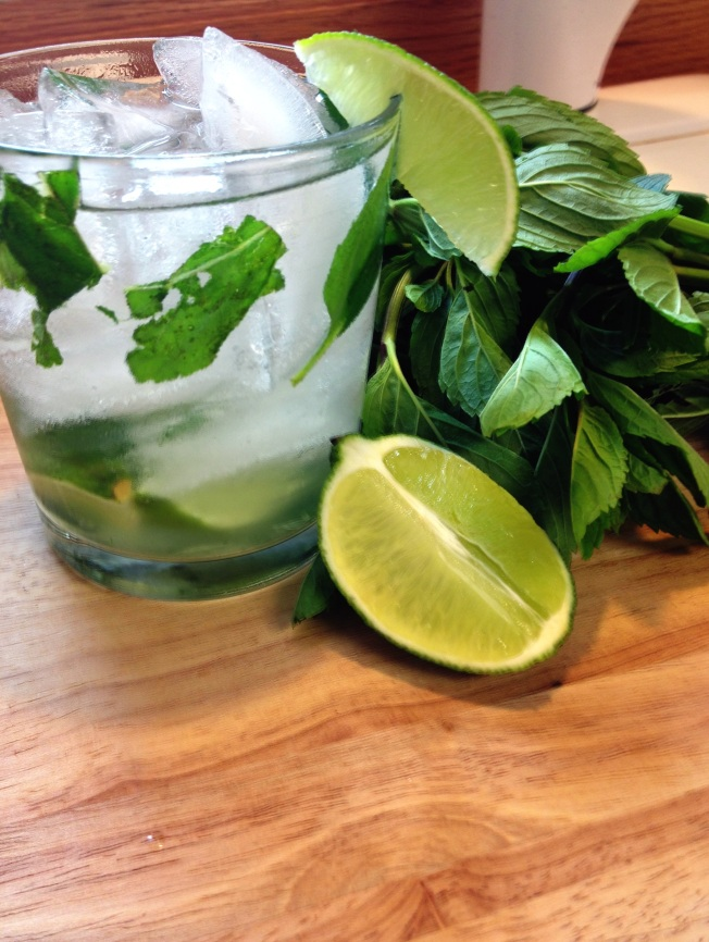 You can call this Brazilian Mojito a cachaca mojito or a mojito cachaca. No matter what you call it, it is delicious!
