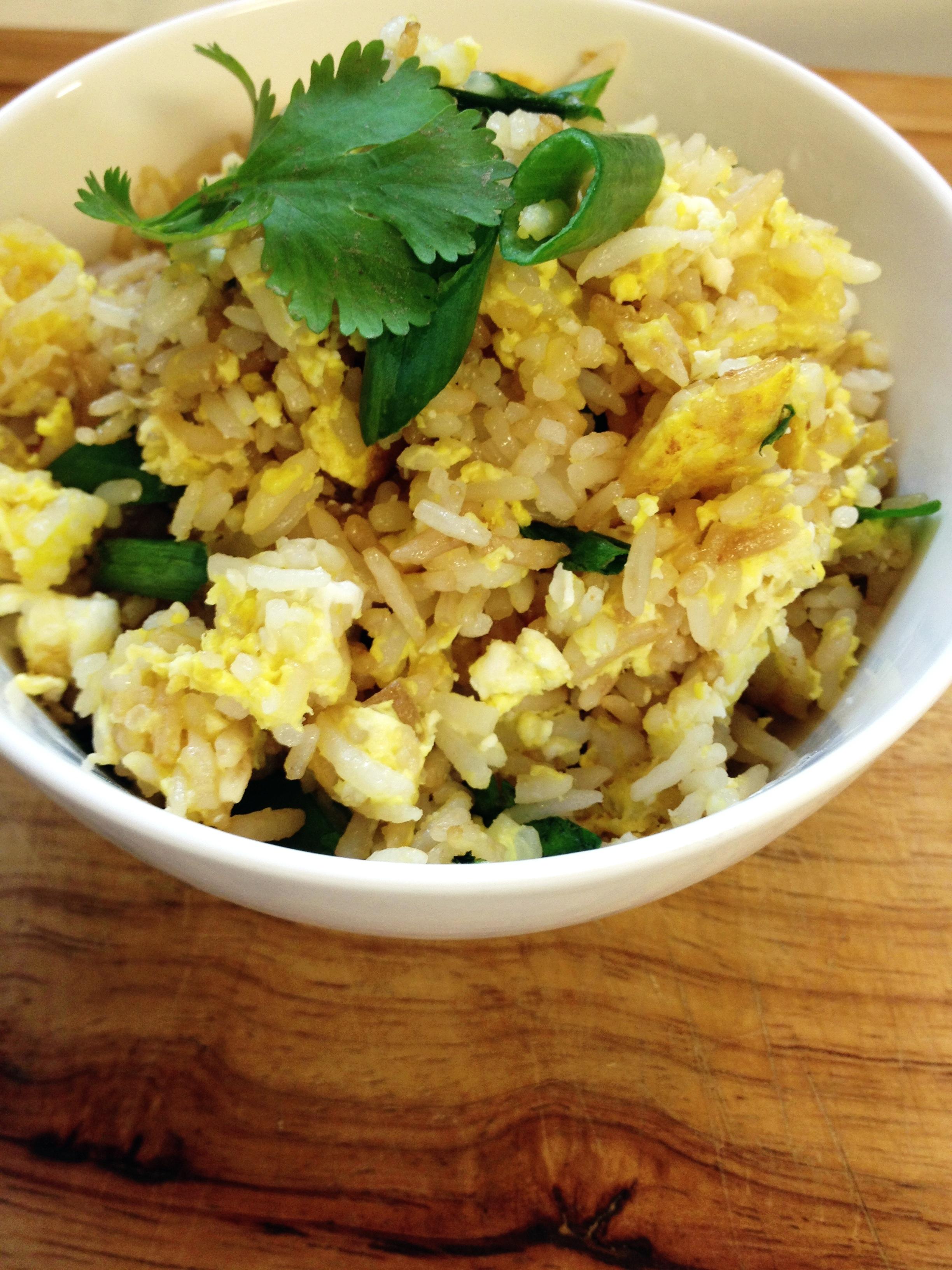 Easy Thai Fried Rice - The Wanderlust Kitchen