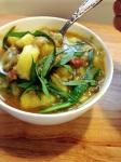 Thai Basil Lentils with SweetPotato