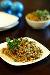 Lebanese Warm Lentils